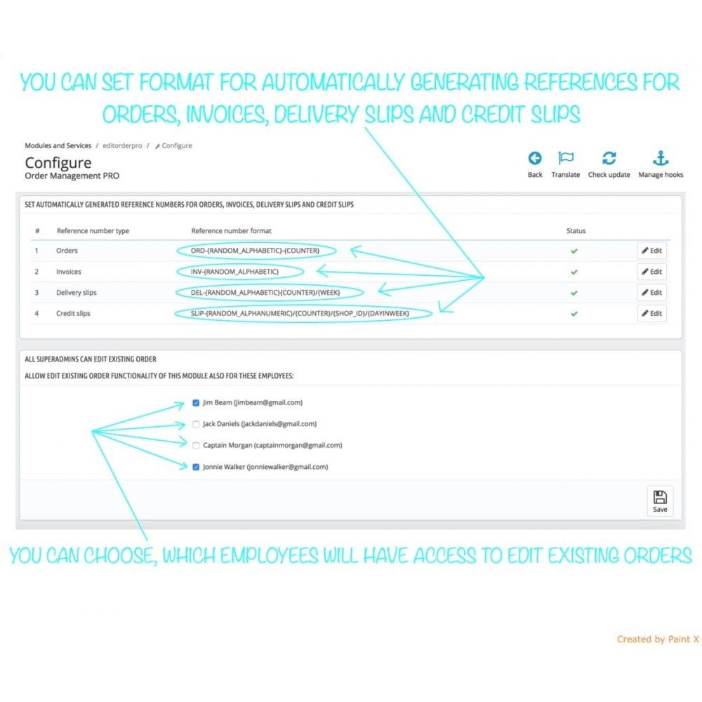 module - Gestión de Pedidos - Gestión avanzada de pedidos y números de documentos - 7