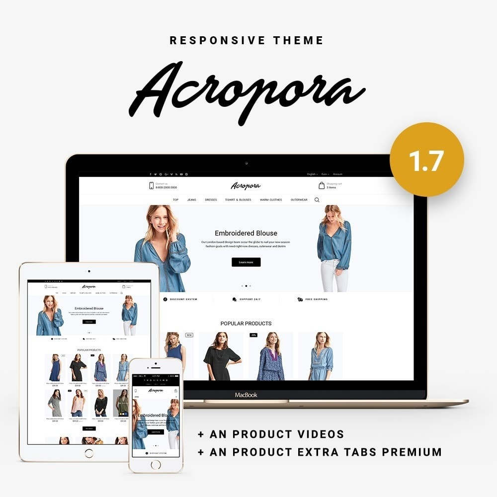 theme - Мода и обувь - Acropora Fashion Store - 1