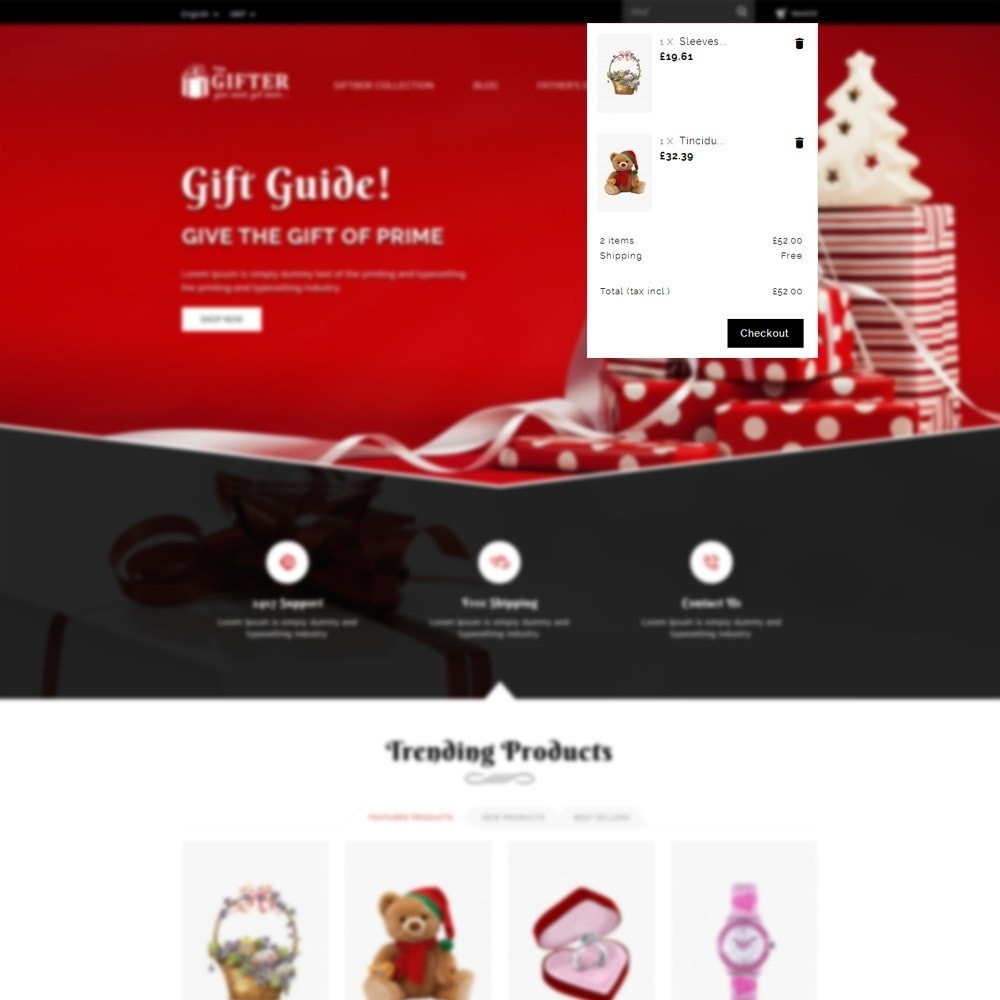 theme - Regali, Fiori & Feste - Gifter - The Gift Store - 7