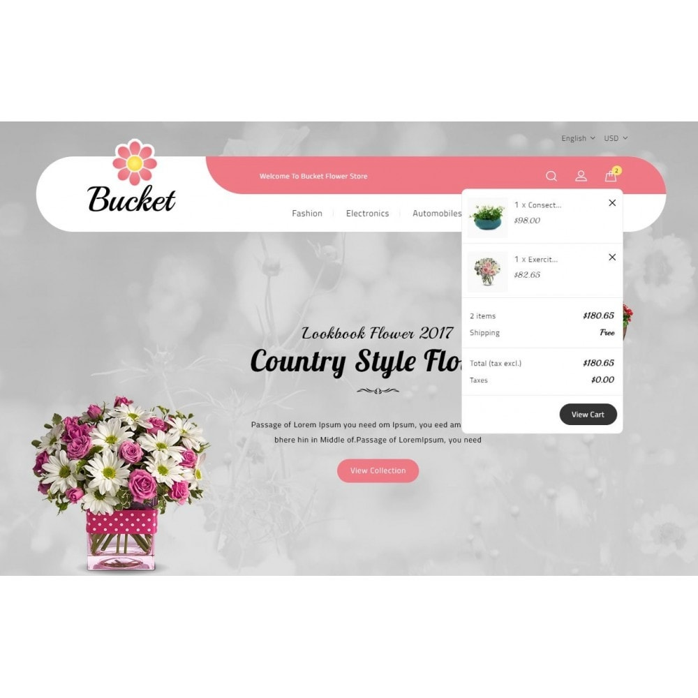 theme - Regali, Fiori & Feste - Bucket Flower Store - 8