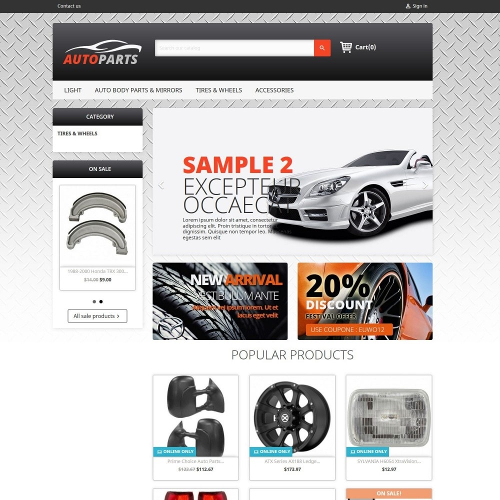 Auto Parts 2.0