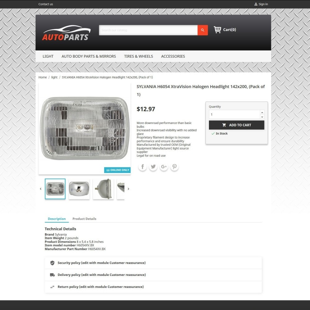 theme - Automotive & Cars - Auto Parts 2.0 - 3
