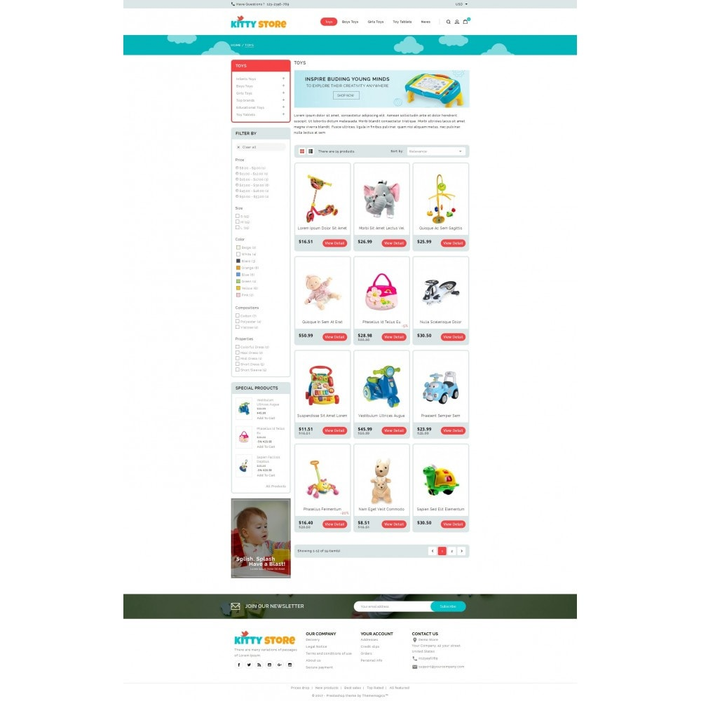 KittyStore - Online Toys Store