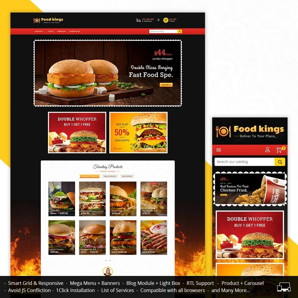 theme - Lebensmittel & Restaurants - Food Kings - 1