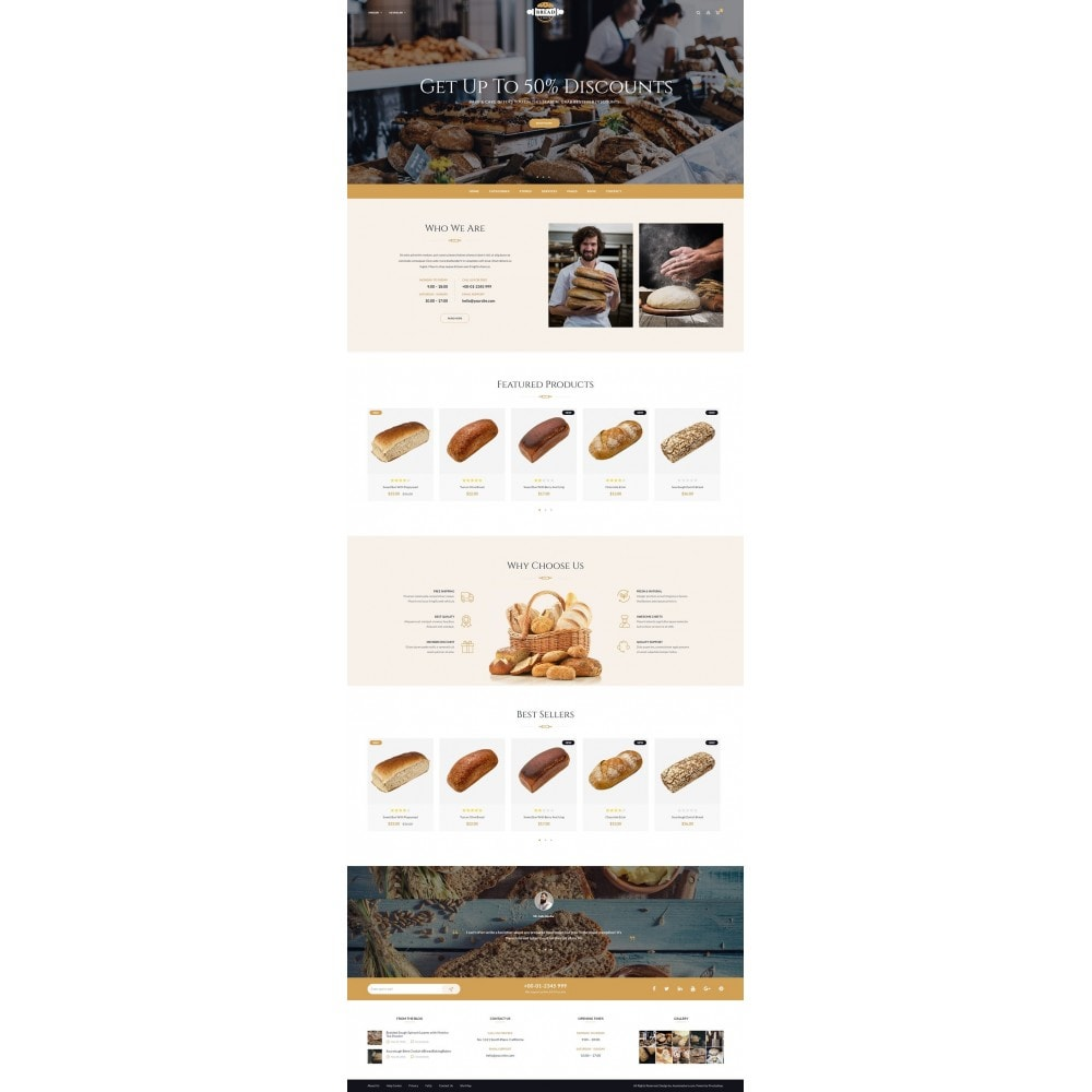 theme - Food & Restaurant - JMS Bread 1.7 - 8