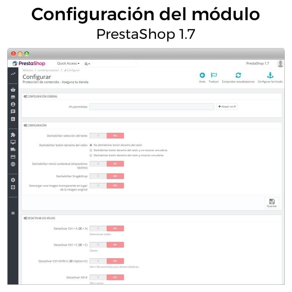 module - Seguridad y Accesos - Protección de contenido - Asegura tu tienda - 3