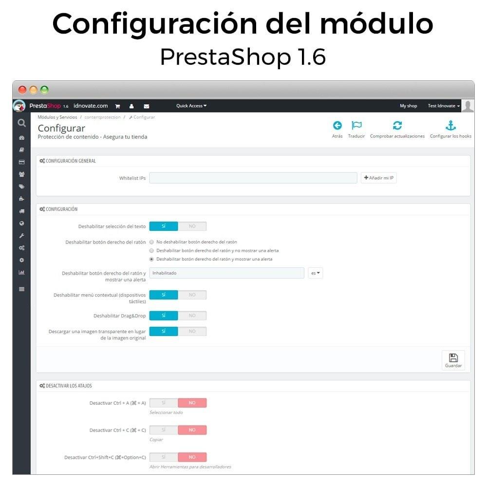 module - Seguridad y Accesos - Protección de contenido - Asegura tu tienda - 4