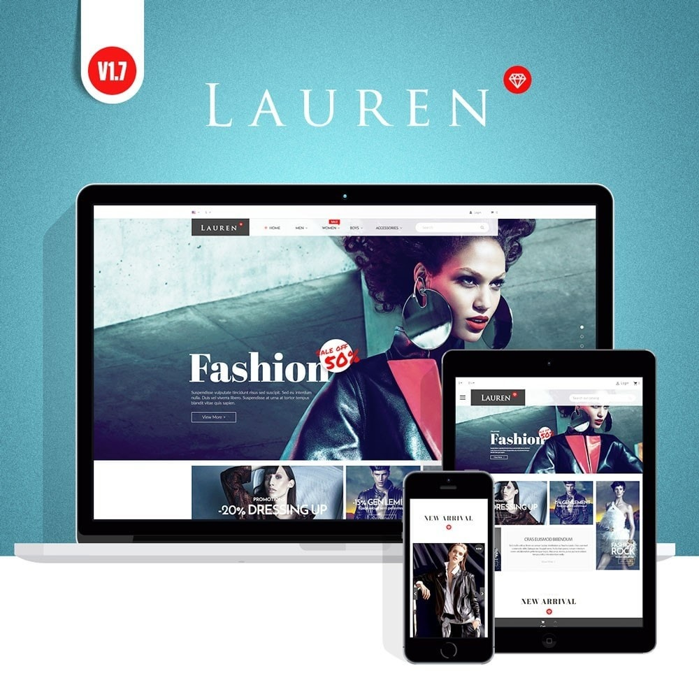theme - Moda & Calzature - Lauren Fashion - 1