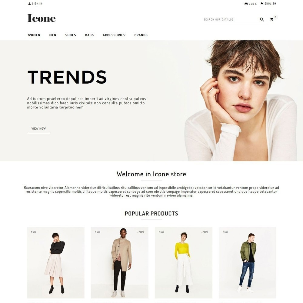 theme - Fashion & Shoes - Icone - 1