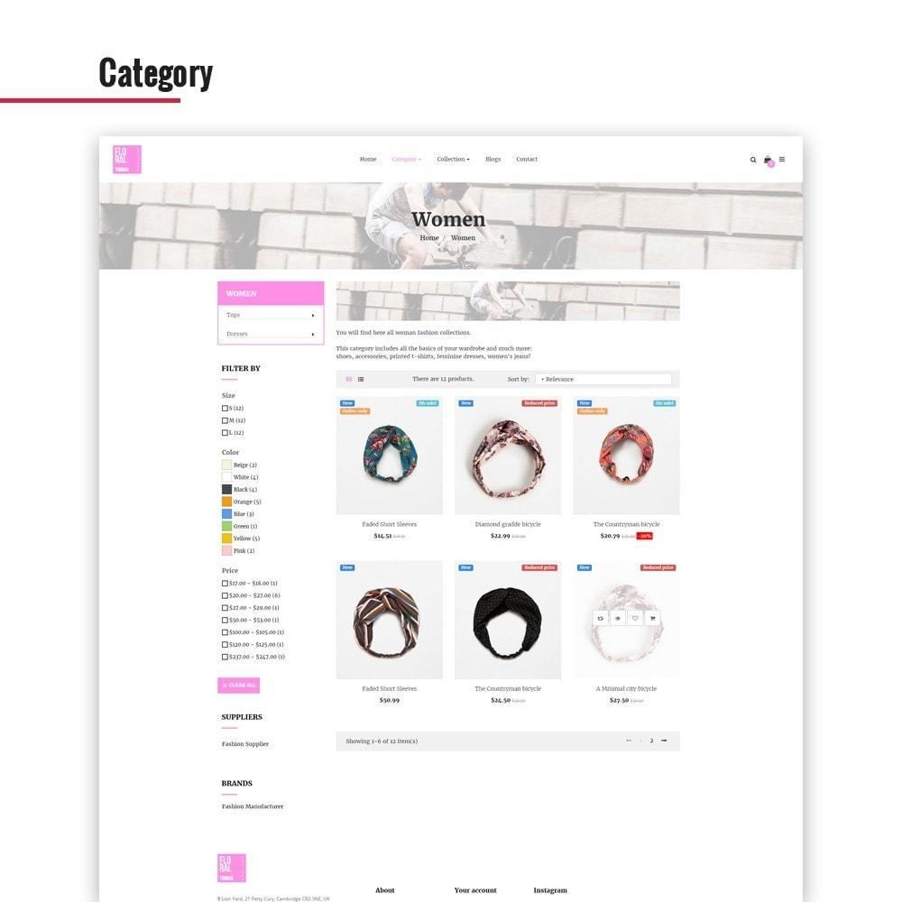 theme - Jewelry & Accessories - Leo Floral Turban - 2