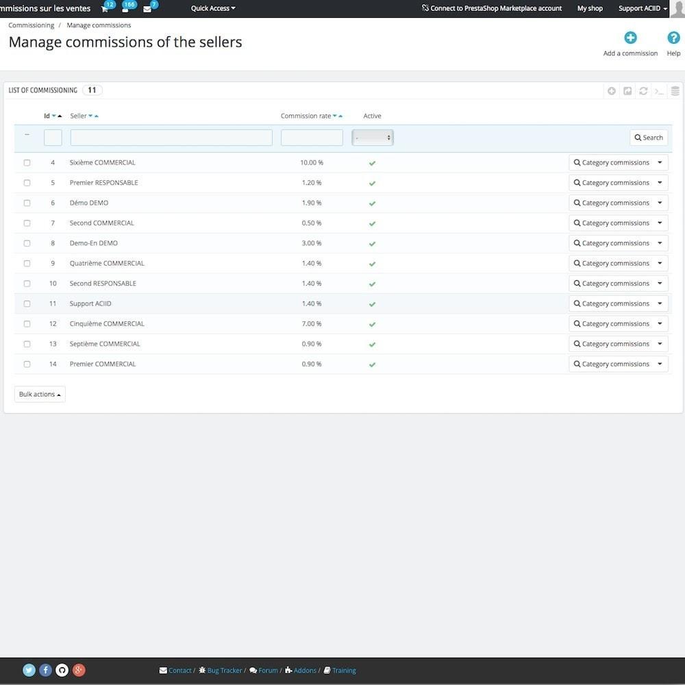 module - Бухгалтерии и выставления счетов - Sales commissions - 4