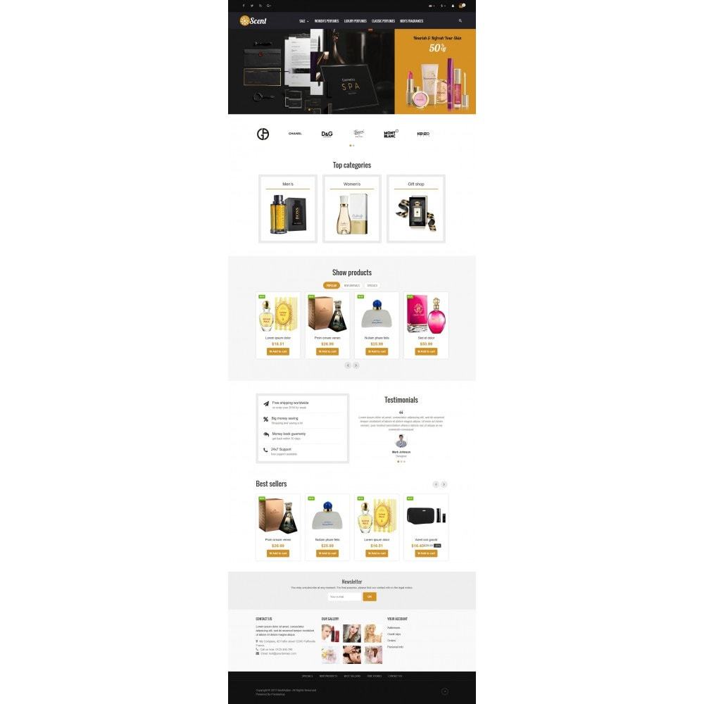 theme - Health & Beauty - VP_Scent Store - 2