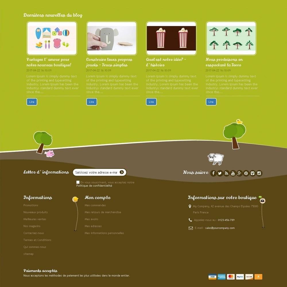 theme - Enfants & Jouets - Happy Farm - 8