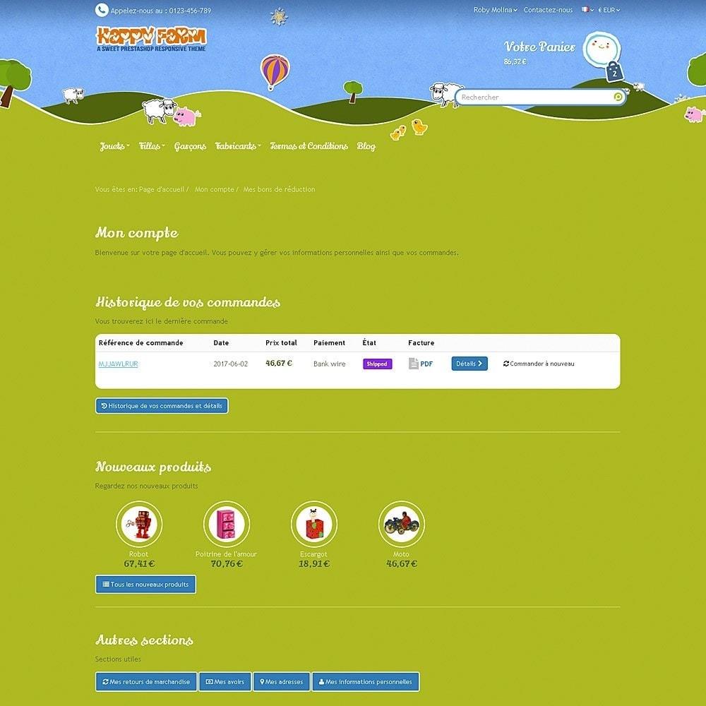 theme - Enfants & Jouets - Happy Farm - 10