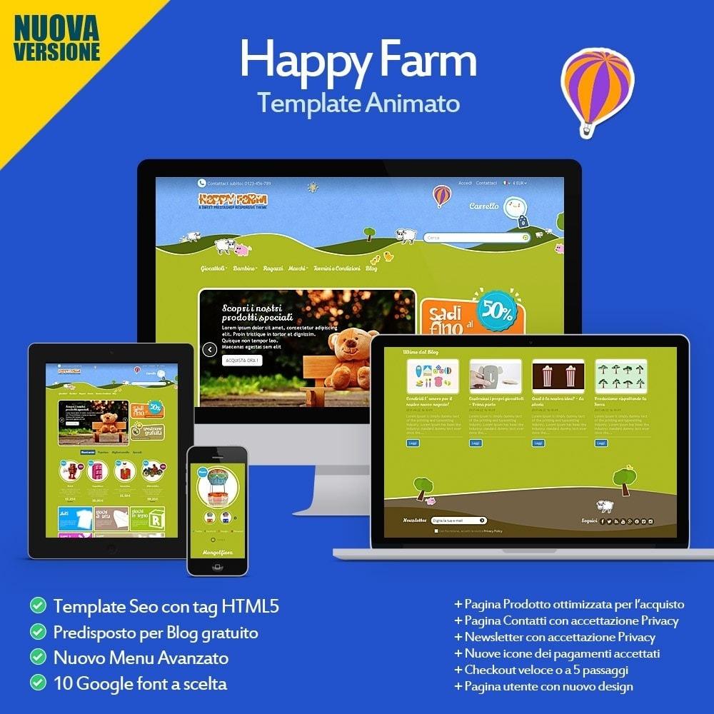 theme - Bambini & Giocattoli - Happy Farm - 1