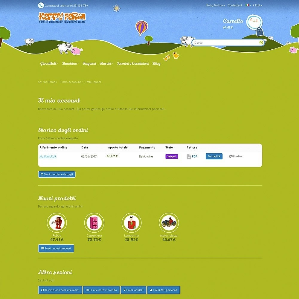 theme - Bambini & Giocattoli - Happy Farm - 10