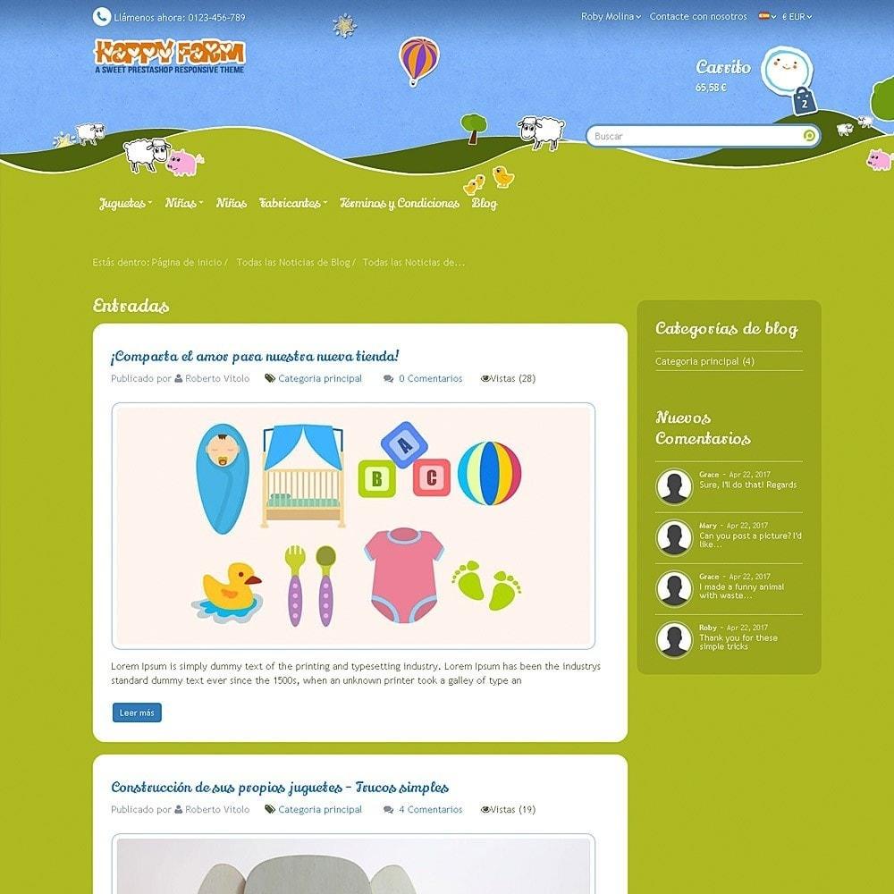 theme - Niños y Juguetes - Happy Farm - 12