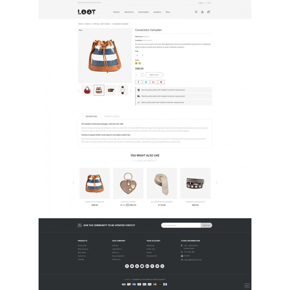 theme - Мода и обувь - Loot - Fashion Store - 5
