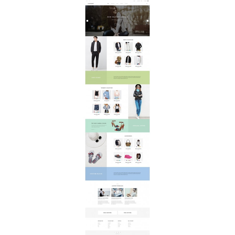 theme - Mode & Chaussures - JMS Fashionus II - 9