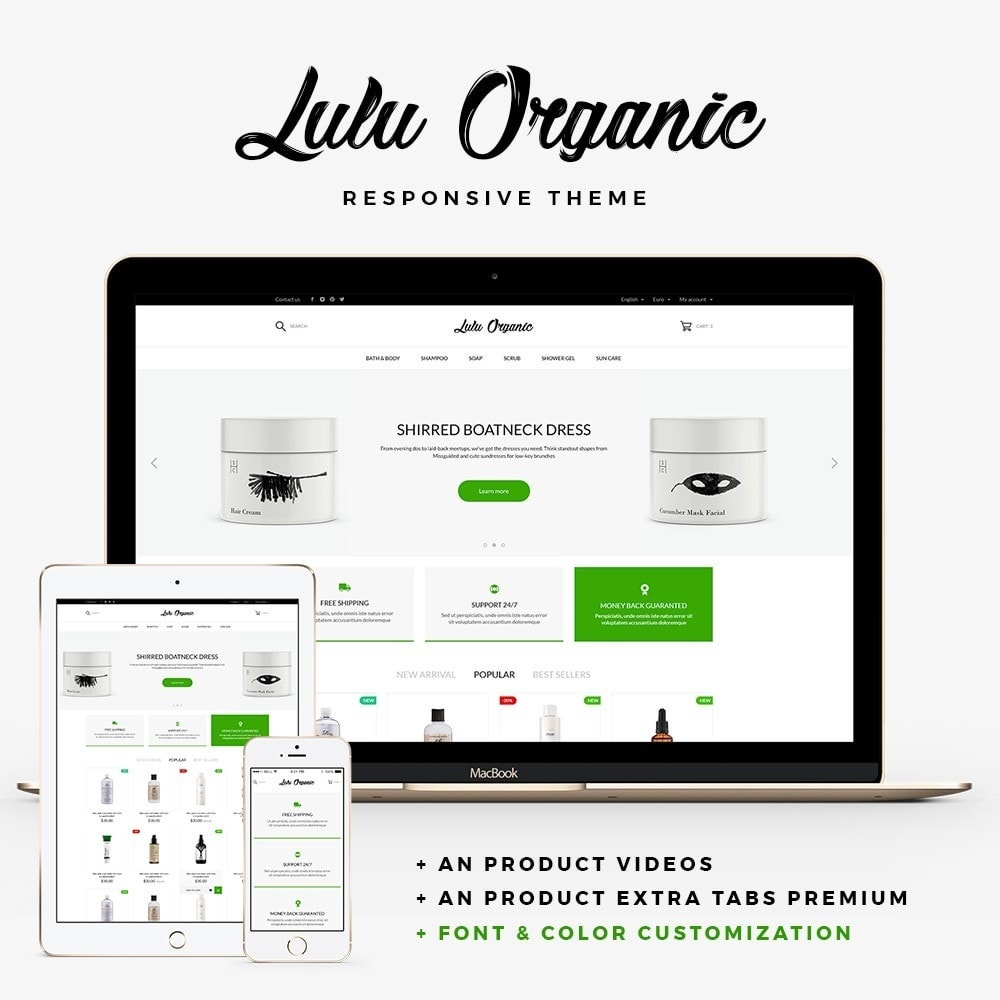 Lulu Organic - Cosmetics Store