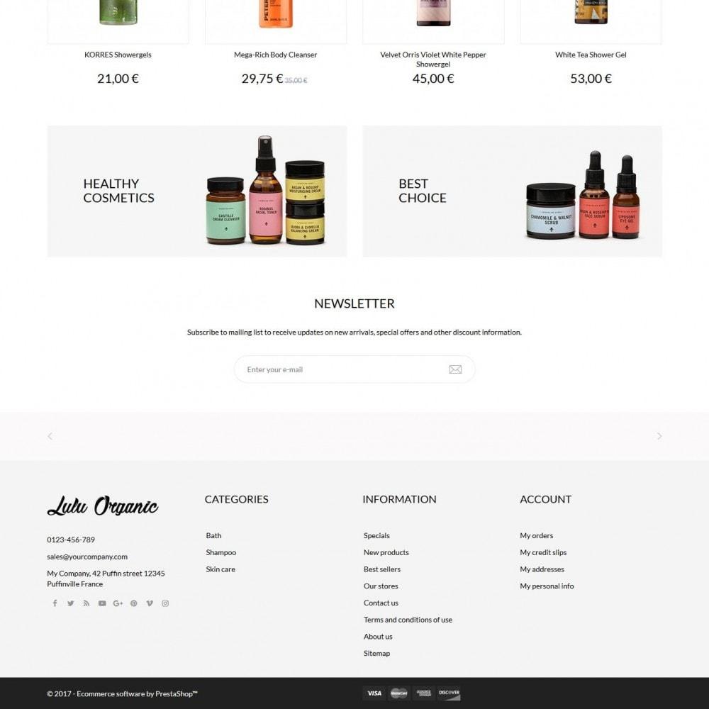 theme - Salute & Bellezza - Lulu Organic - Cosmetics Store - 4