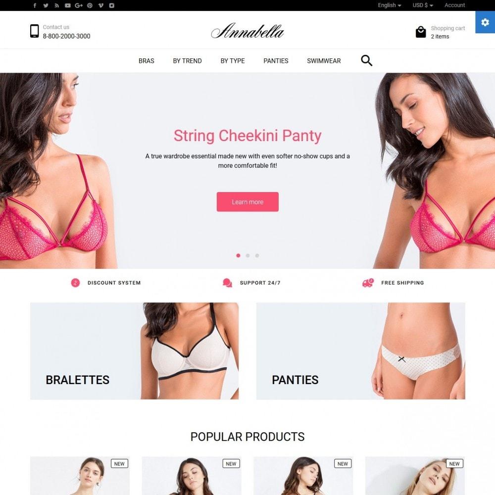 theme - Lingerie & Volwassenen - Annabella Lingerie Shop - 2