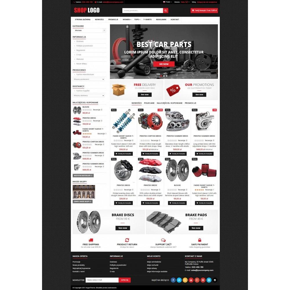 ATS04 Samochody, części zamienne i narzędzia
