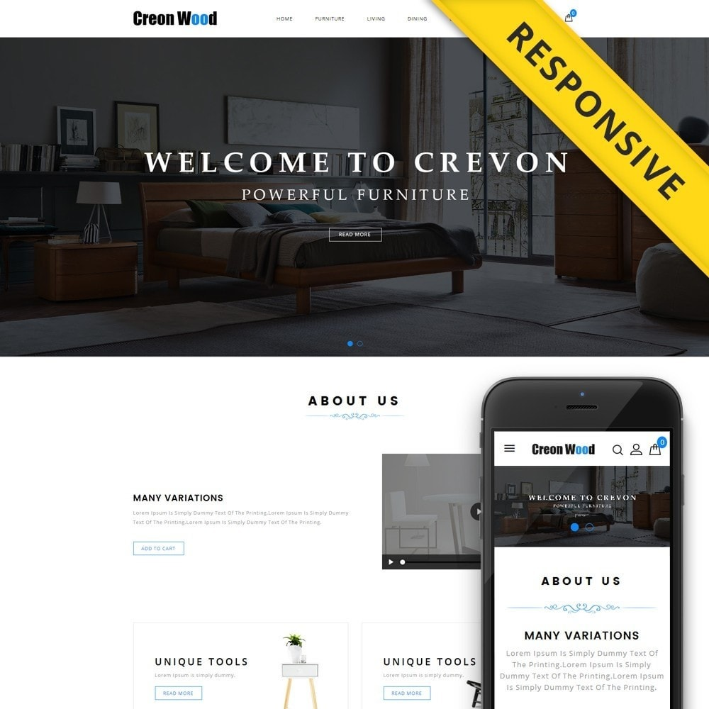 Creon Wood - Furniture Store