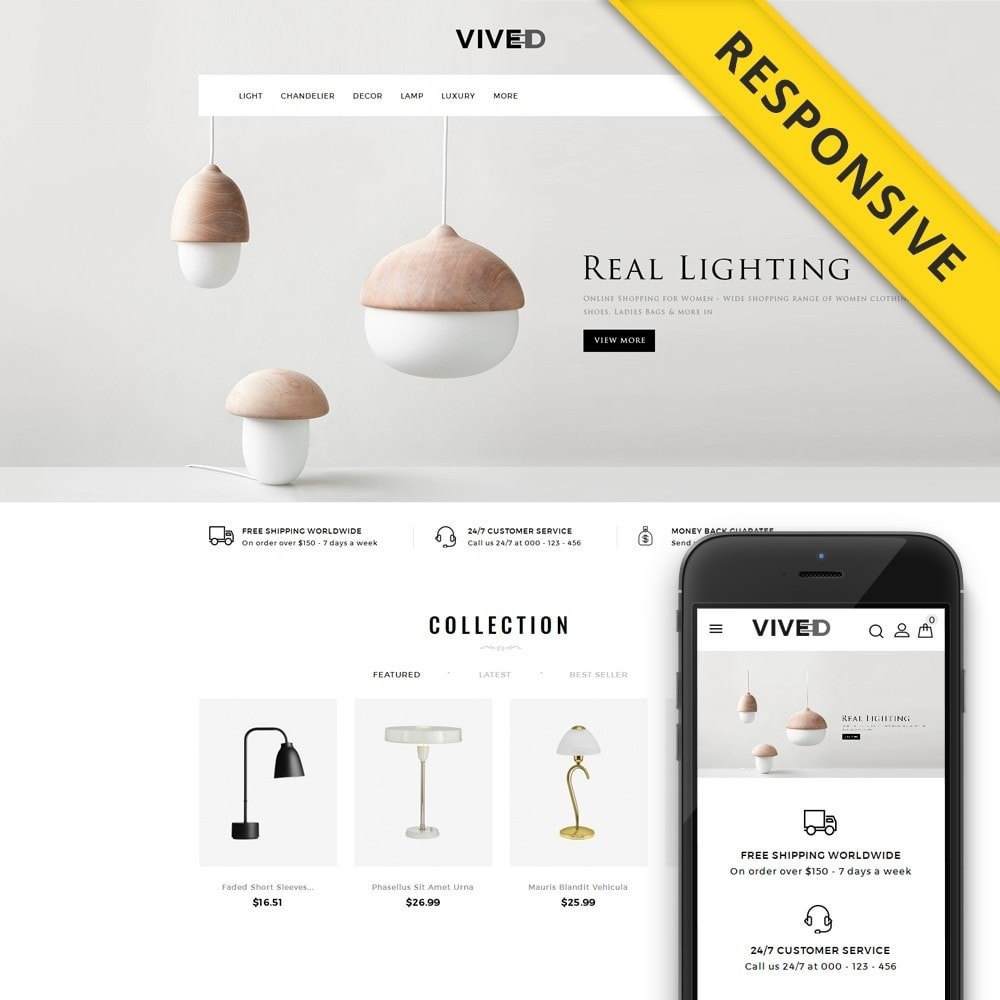 theme - Электроника и компьютеры - Vived - Lighting Design Store - 1