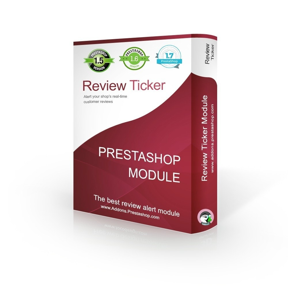 module - Klantbeoordelingen - Review Ticker - REAL TIME product reviews & comments - 1