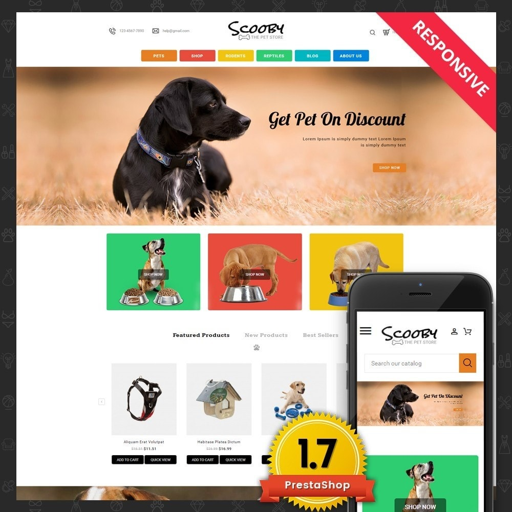 theme - Animales y Mascotas - Scooby pet store - 1