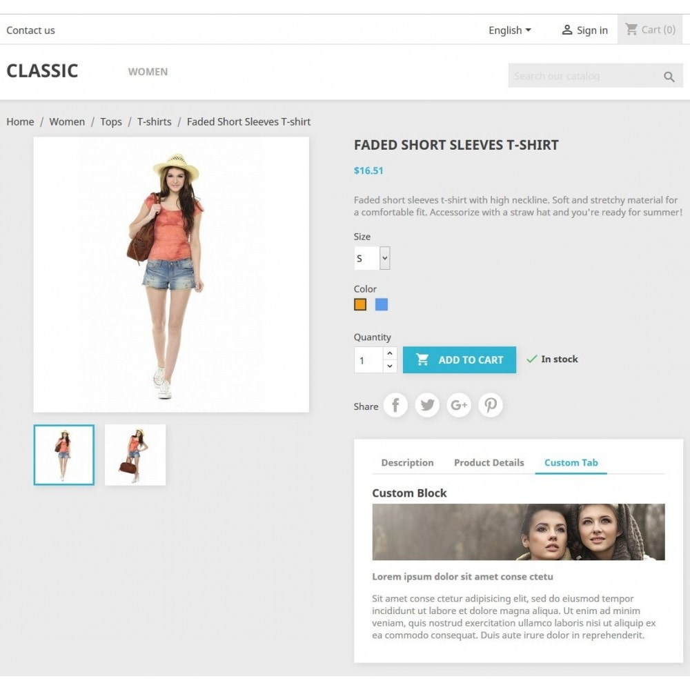 module - Additional Information & Product Tab - Product Tabs Extra Custom Video Banner Text - 2