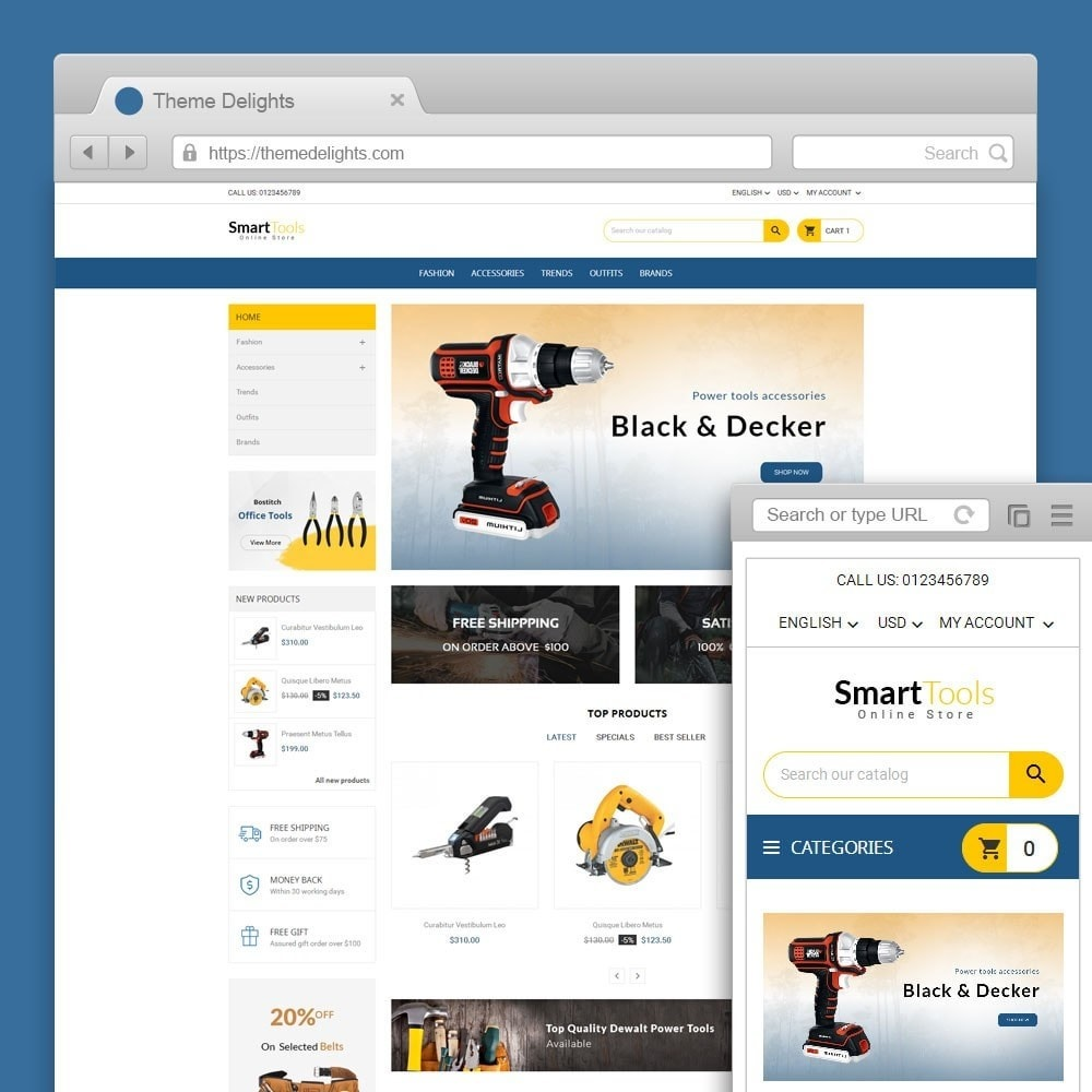 theme - Dom & Ogród - Smart Tools Store - 1