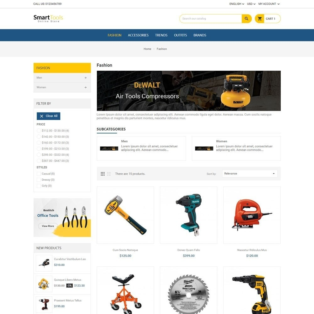 theme - Home & Garden - Smart Tools Store - 3