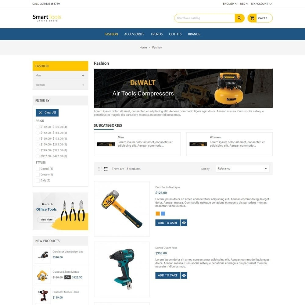 theme - Dom & Ogród - Smart Tools Store - 4