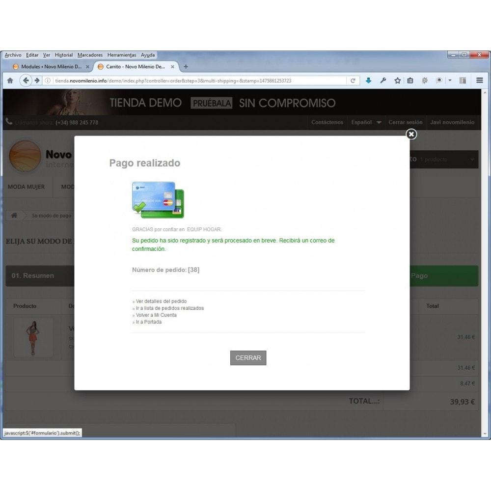 module - Pago con Tarjeta o Carteras digitales - CECA TPV PS17+ Pagos seguros con tarjeta de crédito - 3