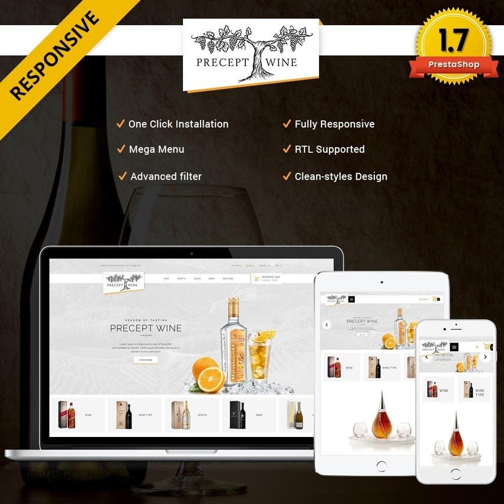 theme - Bebidas & Tabaco - Precept Wine Store - 1