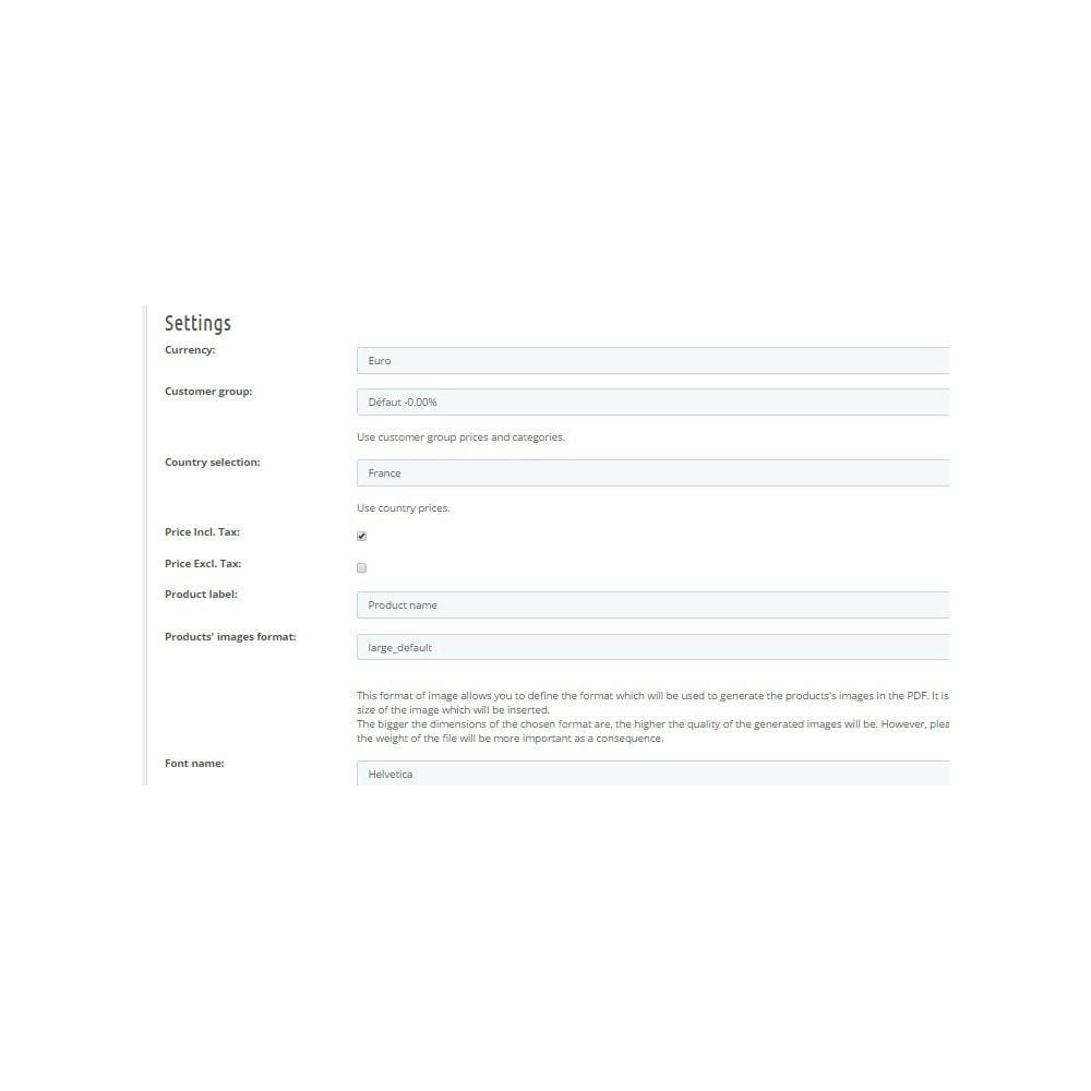 module - Importação & exportação de dados - PDF Catalog - 3