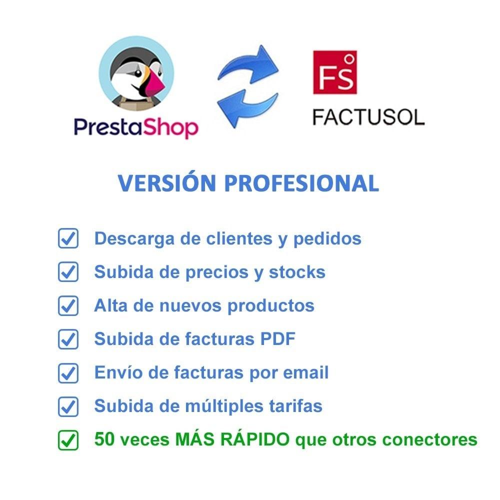module - Integración con CRM, ERP... - Conector FactuSOL PROFESIONAL - 2