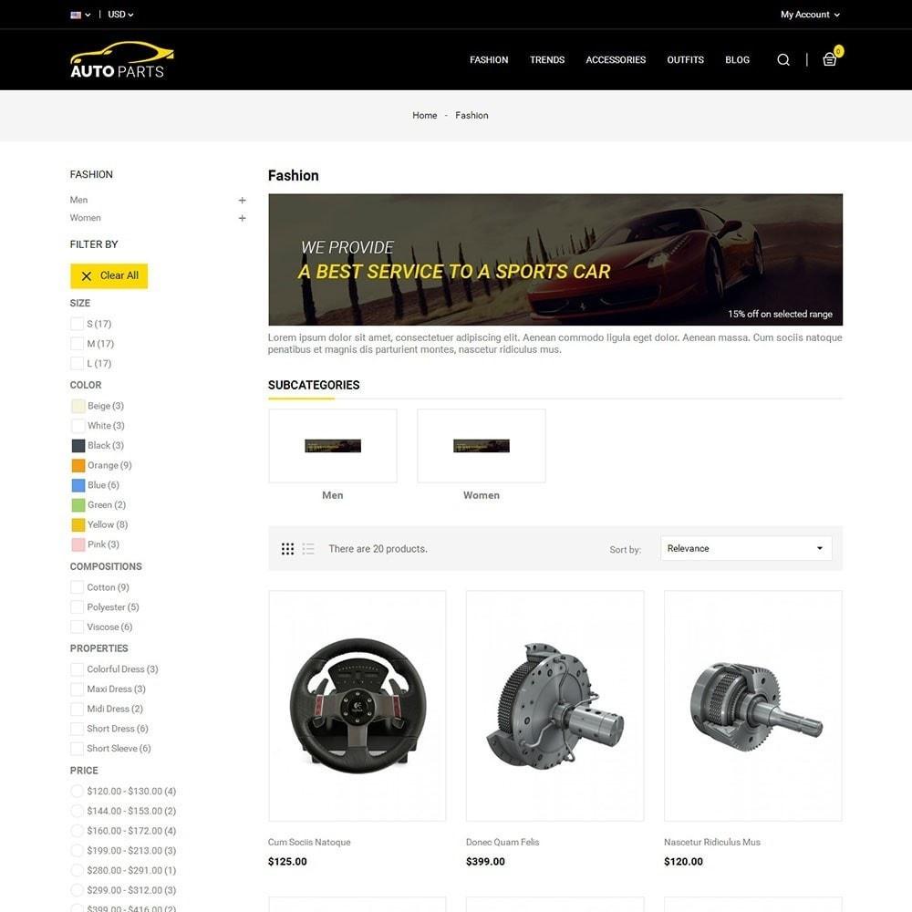 Auto Parts Car Store