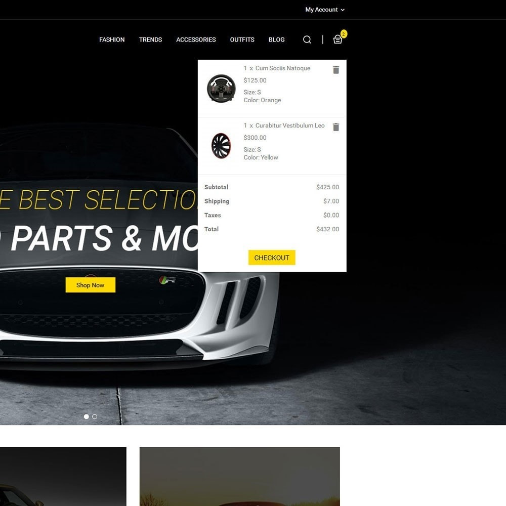 theme - Automotive & Cars - Auto Parts Car Store - 6
