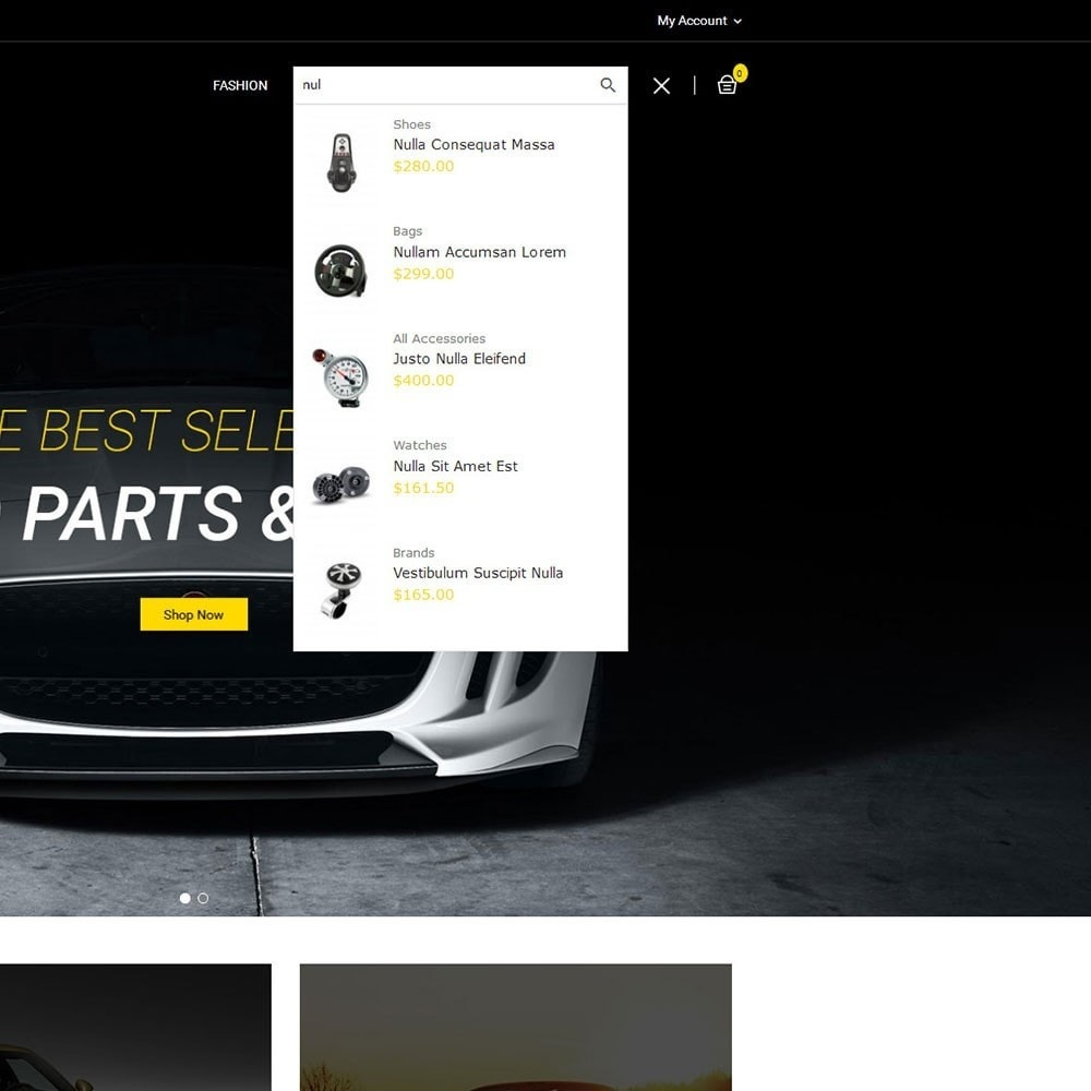 theme - Carros & Motos - Auto Parts Car Store - 7