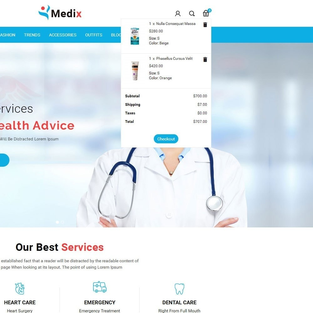 theme - Health & Beauty - Medix Medical Store - 7