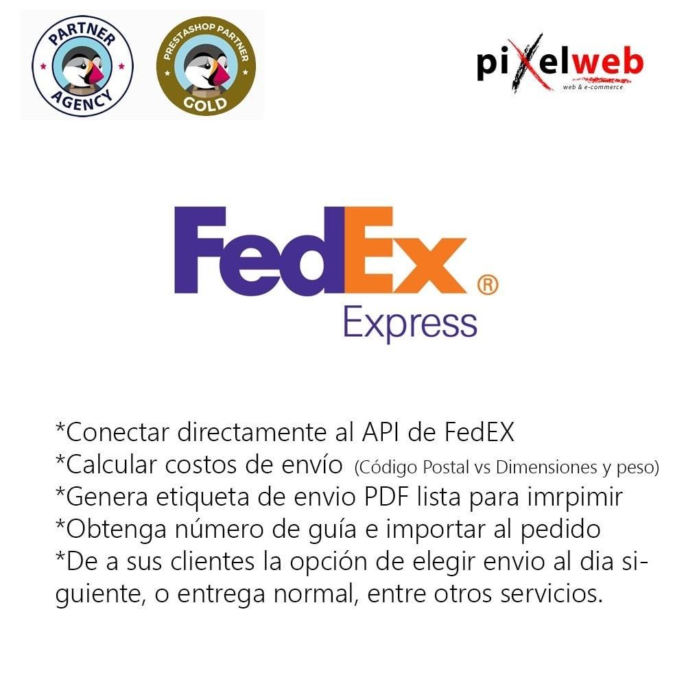 module - Transportistas - Fedex Pro - 1