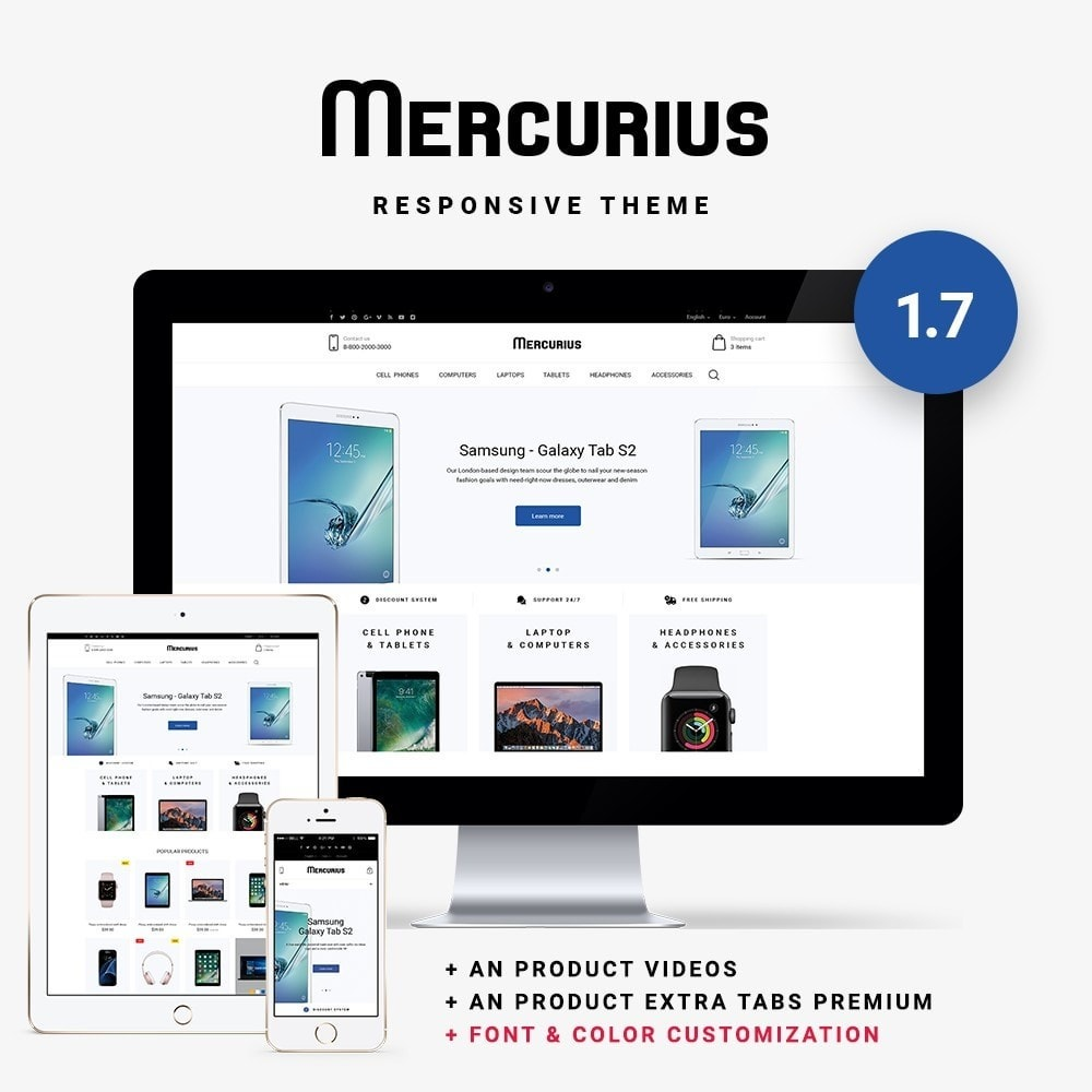 Mercurius - High-tech Shop