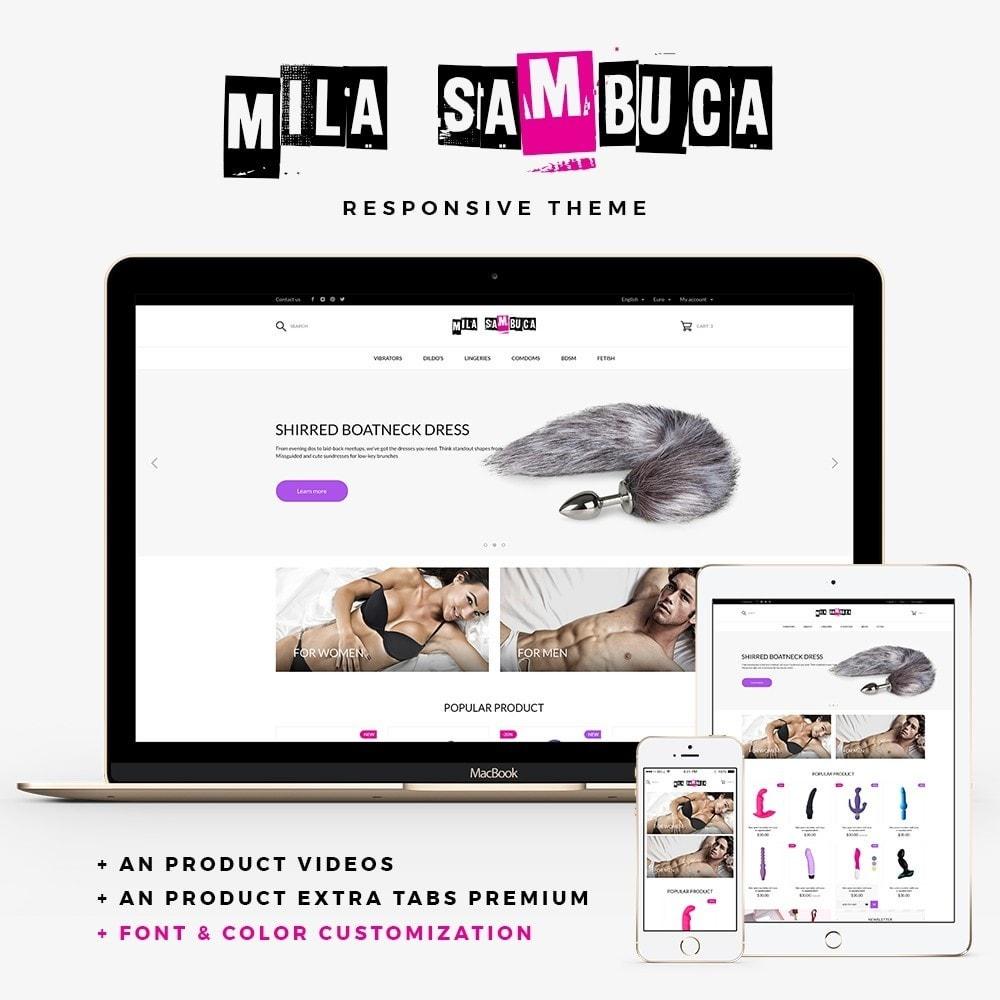 theme - Lingerie & Adult - Mila Sambuca - 1
