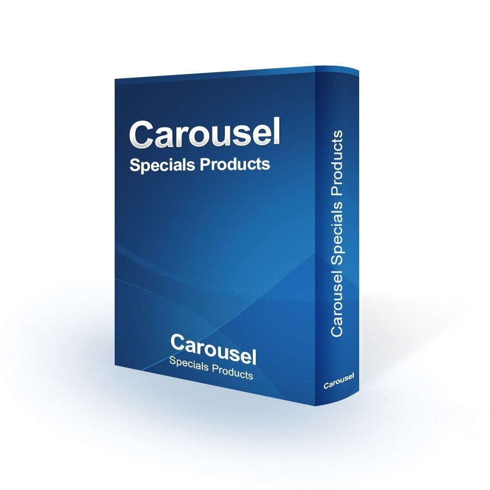 module - Sliders & Galleries - Carousel Specials Products - 1