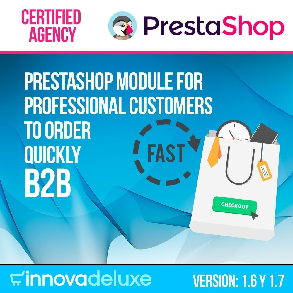 module - B2B - Fast order builder for professional customers - 1