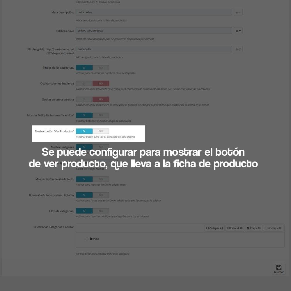 module - B2B - Creador de pedidos rápidos para clientes profesionales - 13