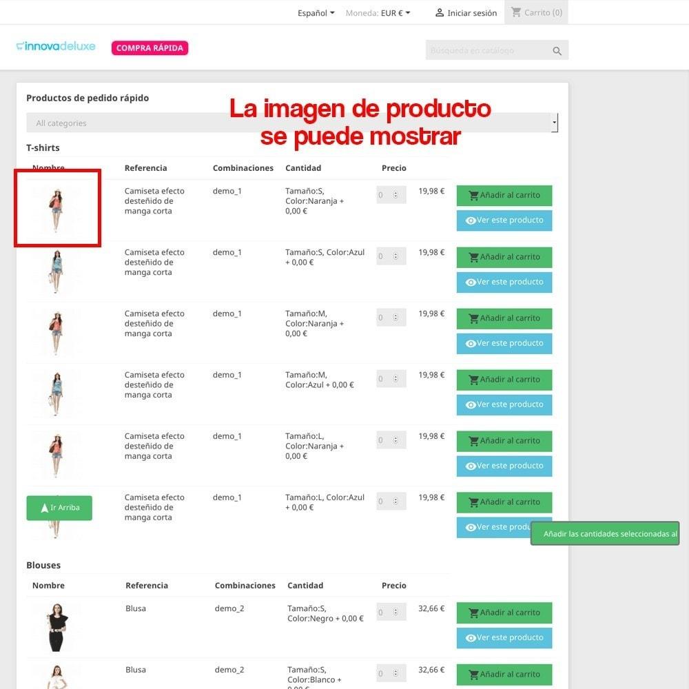 module - B2B - Creador de pedidos rápidos para clientes profesionales - 16